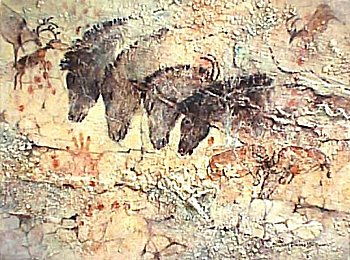 Chauvet Four Horses