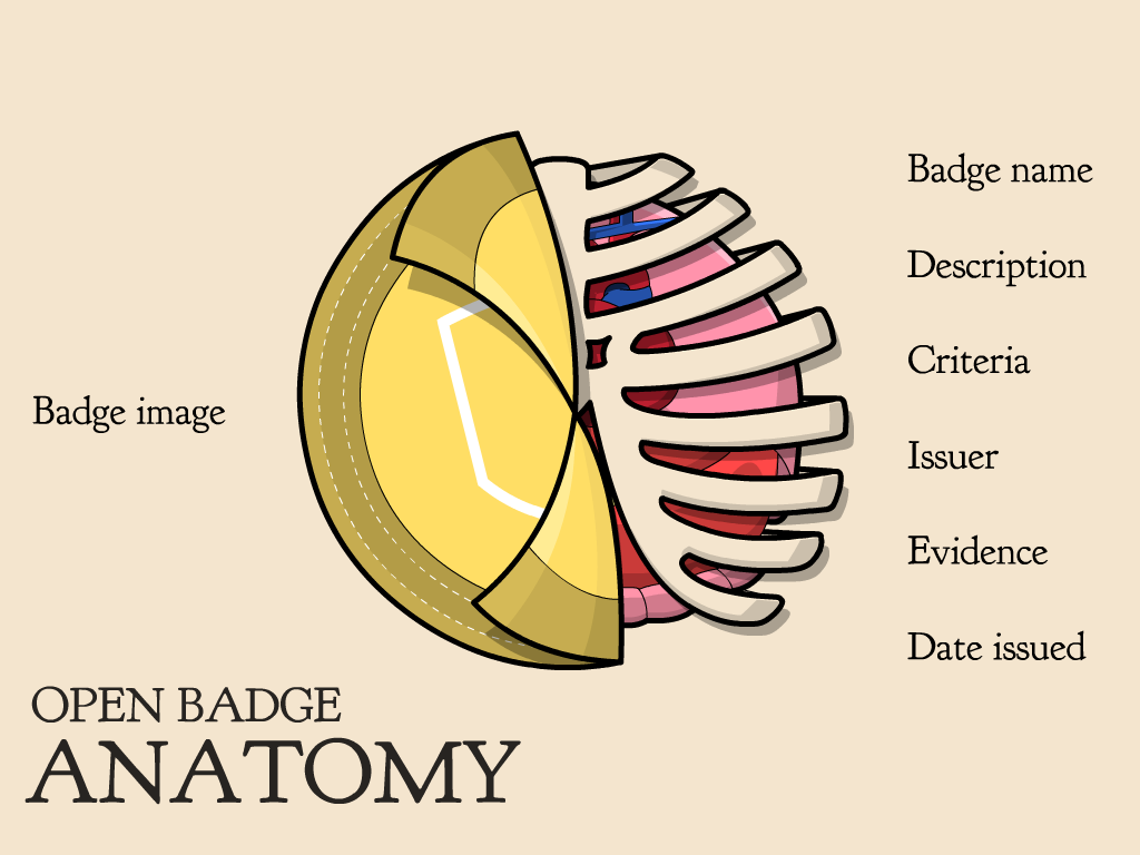 """Badge Anatomy"" by Class Hack. Creative Commons license CC BY-SA"