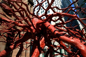 """Trinity Root Sculpture"" by Ingrid Truemper. Creative Commons licence CC BY-SA"