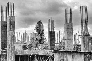"""Builders"" by Roger Reuver. Creative Commons licence CC BY"